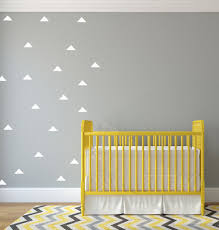 White Wall Decals For Nursery by Triangle Wall Decals Triangle Wall Stickers Nursery Decor Wall