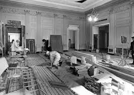 white house renovation 2017 white house family dining room unveiled aol news