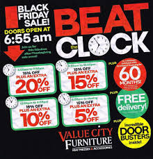 Furniture Sale Thanksgiving Value City Furniture 2016 Black Friday Ad Black Friday Archive