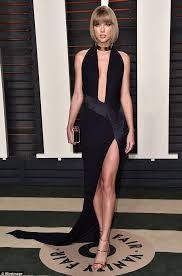 Vanity Fair Diana Taylor Swift Slips Into A Black Gown To Party At Vanity Fair Oscar