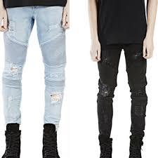 Skinny White Jeans Mens Online Buy Wholesale Mens Black Skinny Jeans From China Mens Black
