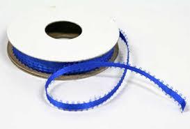 ribbon spools bulk 3 16 royal blue satin picot ribbon 64 spools ribbon