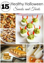 healthy halloween snacks and treats