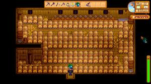 optimal barn keg layout 136 kegs stardewvalley