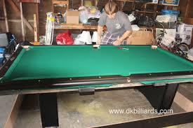garage gameroom for coors fan dk billiards pool table sales