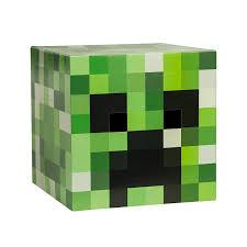 amazon com minecraft creeper head costume mask toys u0026 games