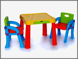 Plastic Table And Chairs Home Design Nice Plastic Childs Table Toddler And Chairs Home