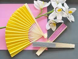 wedding fans favors paper fans