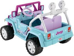 power wheels jeep hurricane fisher price power wheels frozen jeep electric vehicles amazon