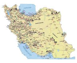 Caspian Sea World Map by Maps Of Iran Detailed Map Of Iran In English Tourist Map