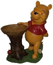 buy woods disney garden winnie the pooh tree trunk bird bath free