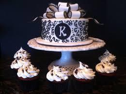Kitchen Tea Cake Ideas Black And White Cake My Sweet Zepol