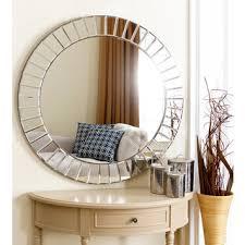 Circle Wall Mirrors Shop For Abbyson Living Santorini Round Wall Mirror Get Free