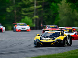lime green bentley parente fuentes and udell win in gt gta gt cup lime rock park