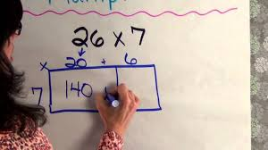 area model multiplication youtube