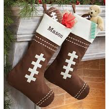 football stocking by mud pie