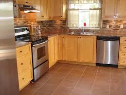 Kitchen Vinyl Floor Tiles by Kitchen Design Concept Kitchen Flooring Option Wooden Design