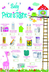 price is right baby shower baby shower the price is right92 pack pers 24 99 448