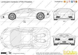 lamborghini gallardo blueprint the blueprints com vector drawing lamborghini aventador lp700