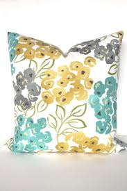 Teal Yellow And Grey Bedroom Best 25 Teal Throw Pillows Ideas On Pinterest Brown Dinning