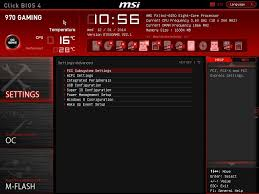bios and software msi 970 gaming motherboard review