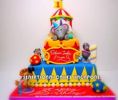 circus cake toppers the sensational cakes circus masterpiece madagascar 3 circus