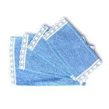 E5584 Wipe Your Paws Doormat Minimum World E4677 Blue Towel Set 4