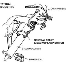 column shift neutral safety u0026 backup lamp switch