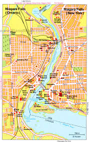 map of southeast canada 10 top tourist attractions in niagara falls canada planetware