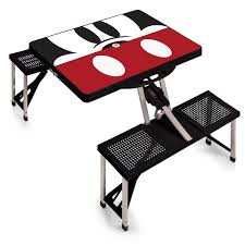 mickey mouse end table mickey mouse picnic table sport portable folding table with