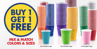 light up drinking glasses party city buy one get one free bogo plastic paper cups party city