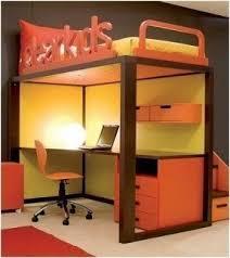 fantastic bed on top desk on bottom foter greenvirals style