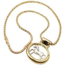 necklace with drop pendant images Hermes two color gold horse pendant necklace for sale at 1stdibs jpg