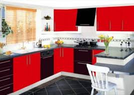 black and red kitchen designs brilliant design ideas c