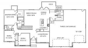 100 open floor plans ranch 358 best house plans images on