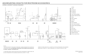 find and save ada mounting heights for restroom accessories design