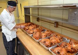 thanksgiving dinner for 10 000 cooking in albany the daily gazette