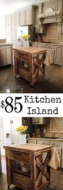 kitchen rolling island 10 diy kitchen islands to really maximize your space 10 diy