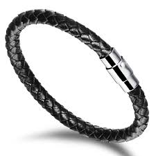 black man bracelet images Bracelets and bangles wrap bracelet punk rock style men bracelet jpg