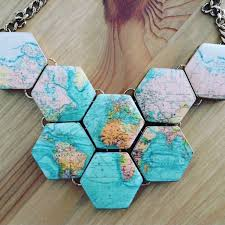 World Map Necklace by 2016 Year In Review What I Bought U2013 The Jewellery Edition Save