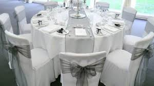 gray chair covers white chair covers