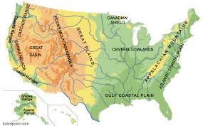 africa map landforms map of us landforms five in a row grandfathers journey united