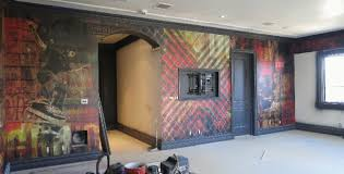 Graphic Wall Murals Wrap Up Interior Design Los Angeles CA - Wall graphic designs
