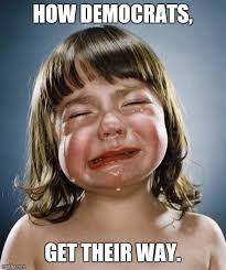 Funny Democrat Memes - crying like a baby imgflip