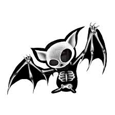 bat skeleton illustration ode to bats pinterest