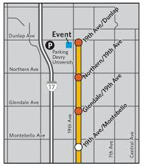 Phoenix Airport Map by Providing Public Transportation Alternatives For The Greater