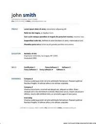 Open Office Templates Resume Resume Templates Open Office Free Resume Resume Format Microsoft