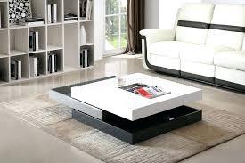 white living room table modern living room side tables end tables for living room thumb