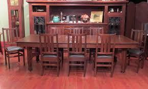 Stickley Dining Room Furniture Harvey Ellis Archives California Historical Design