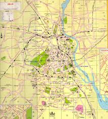 Und Campus Map Delhi Map